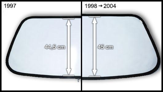 Modèle Megane 1997 ou 1998 - 2004
